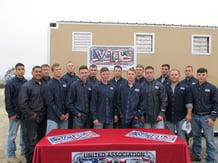 The 20th graduating class at Camp Pendleton.
