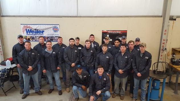 UA VIP Fort Campbell Welding Class 8