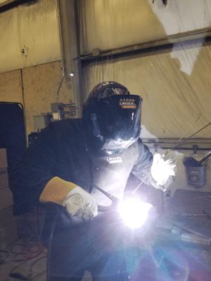 Arron Virklan tig welding