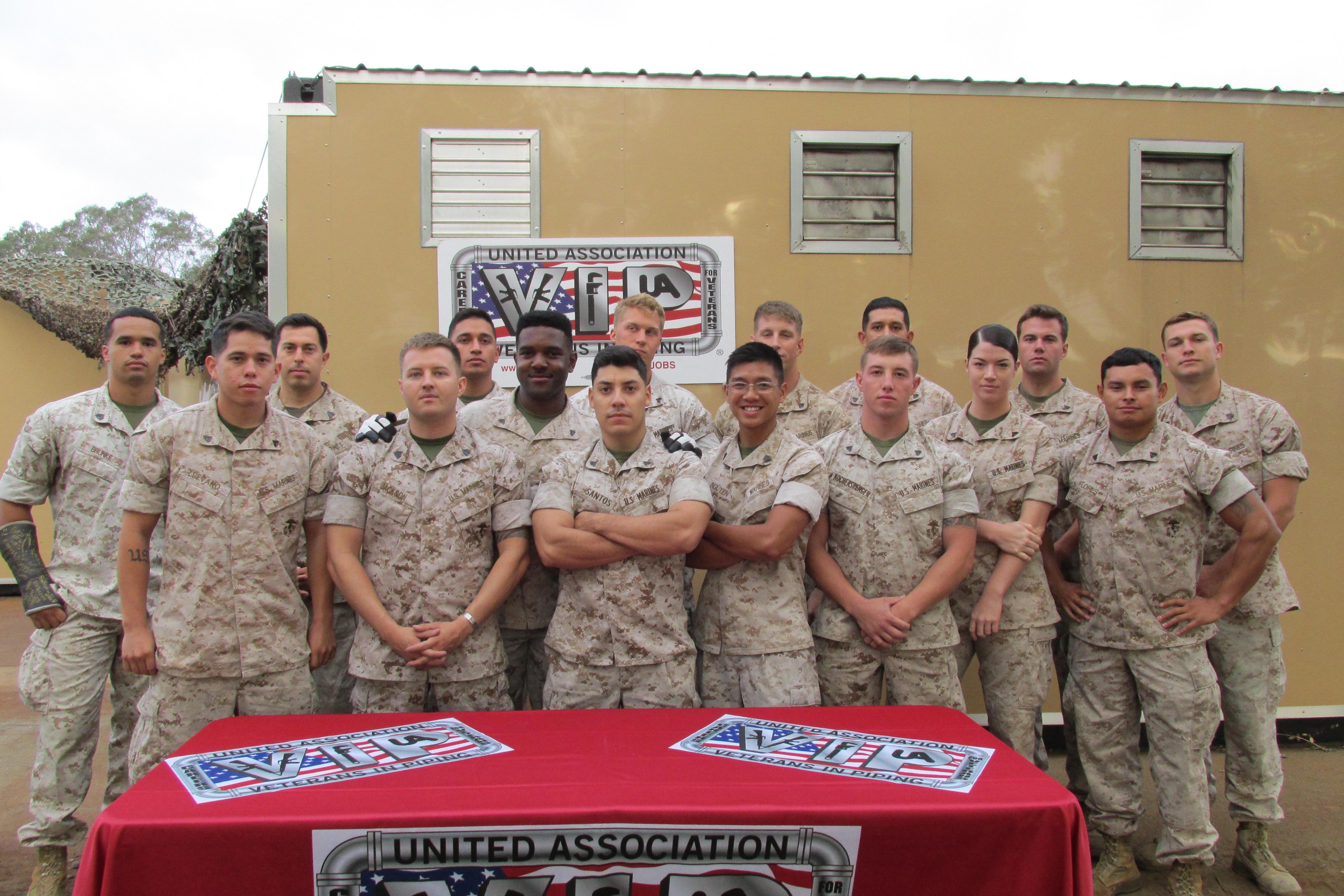 UA VIP Camp Pendleton Class 23