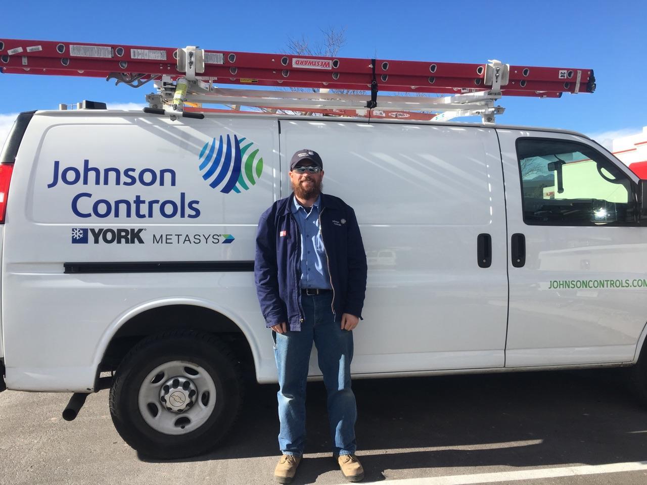 UA VIP graduate Kurt Watson works for Johnson Controls
