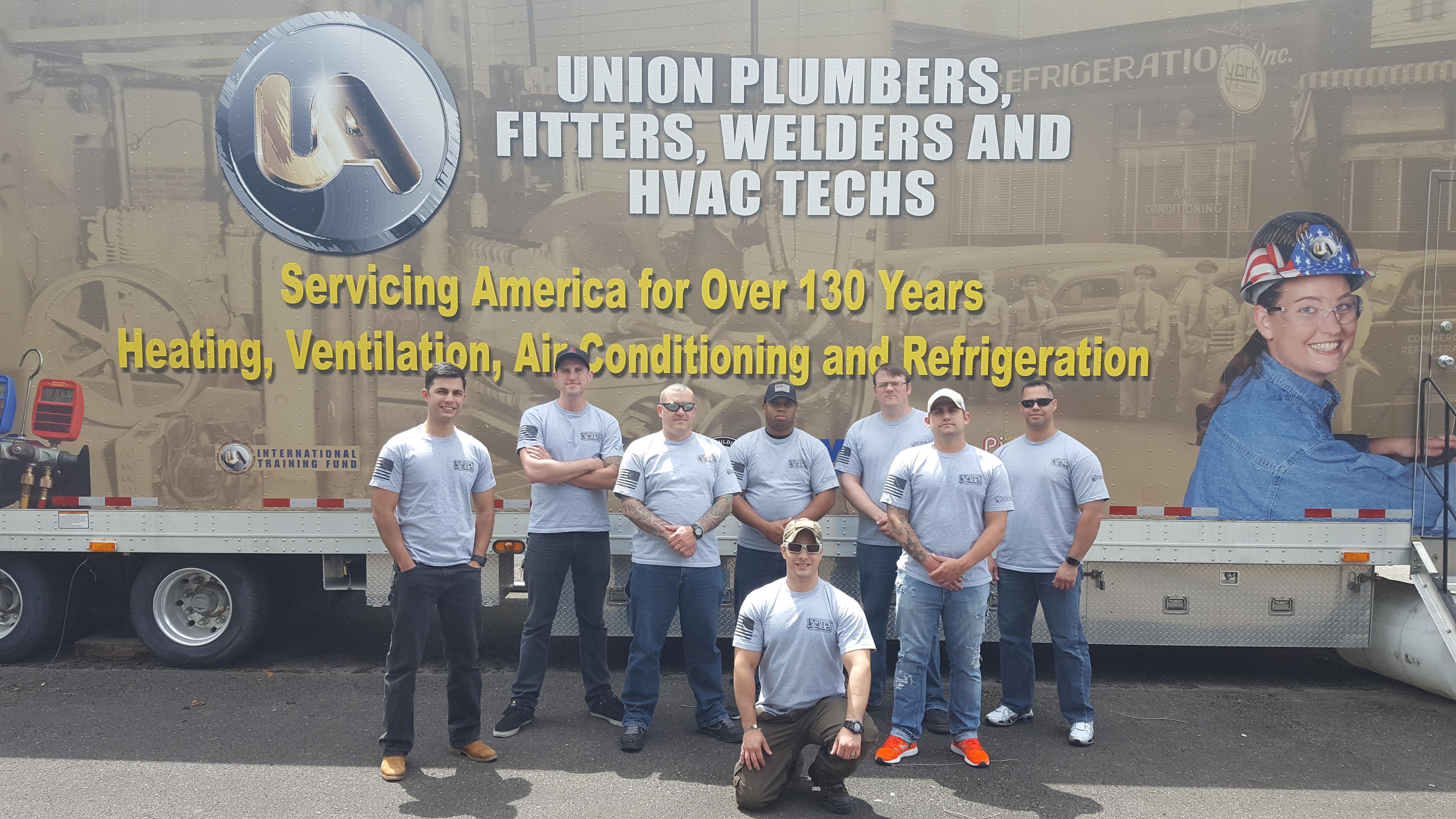 Members of the JBLM UA VIP HVAC-R Class 11 graduated on June 13.