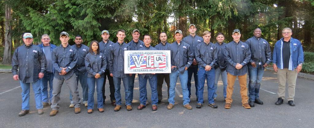 The 8th welding class at JBLM prepare to graudate from the VIP Program.