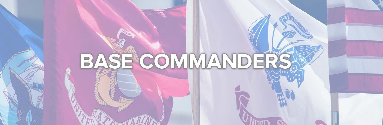 Base Commanders