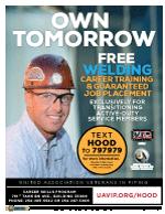 Image of the Fort Hood, TX program flyer