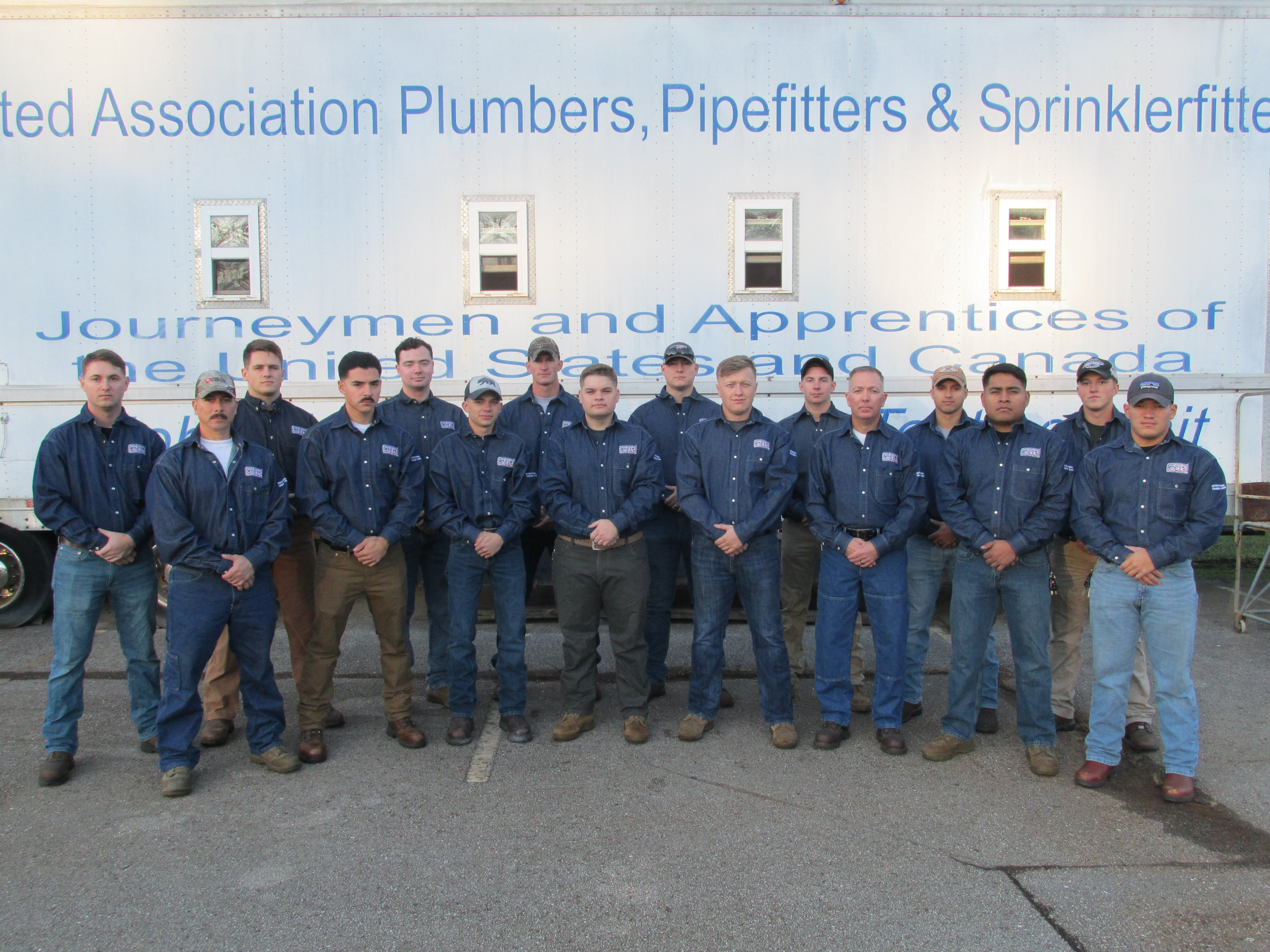 UA VIP Program Members Graduate From Camp Lejeune Welding Class 12