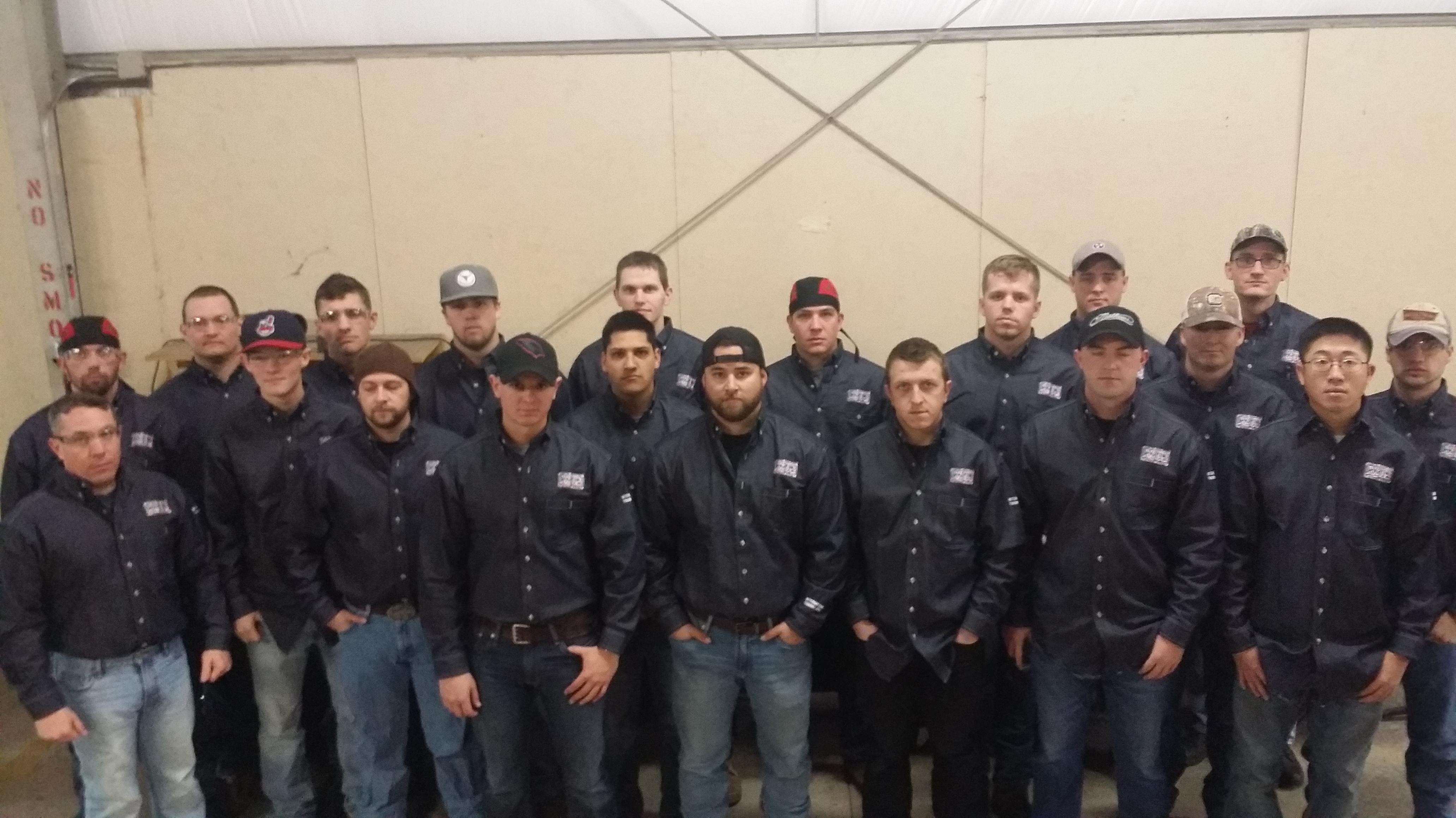 UA VIP Fort Campbell Welding Class 9