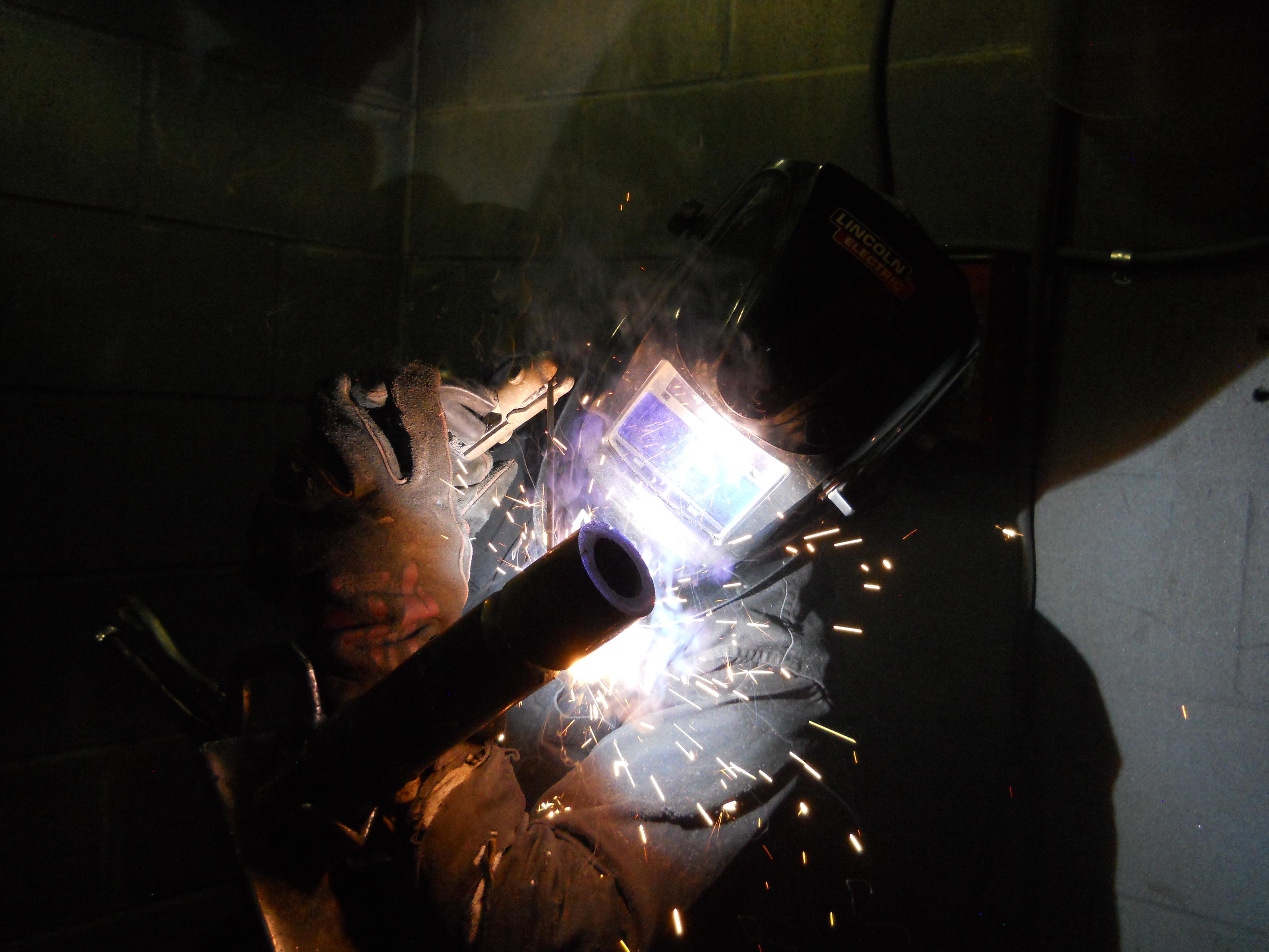 Fort Carson - welding