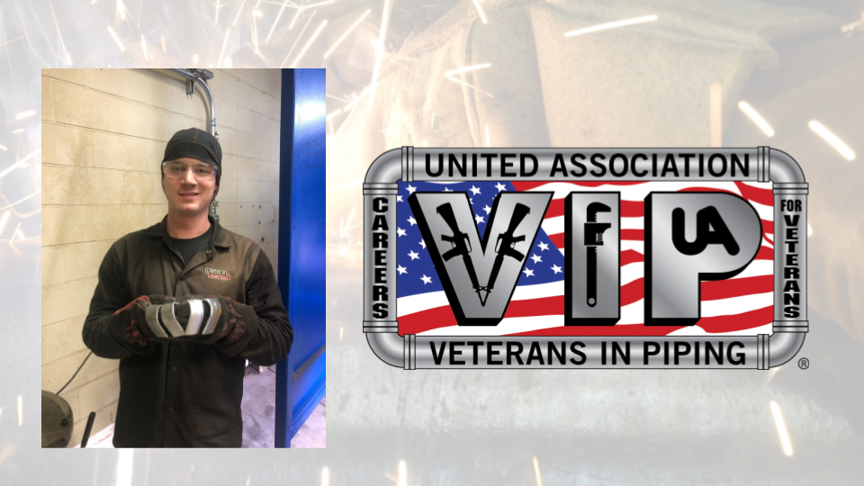 UA Veterans in Piping - Camp Lejeune welding