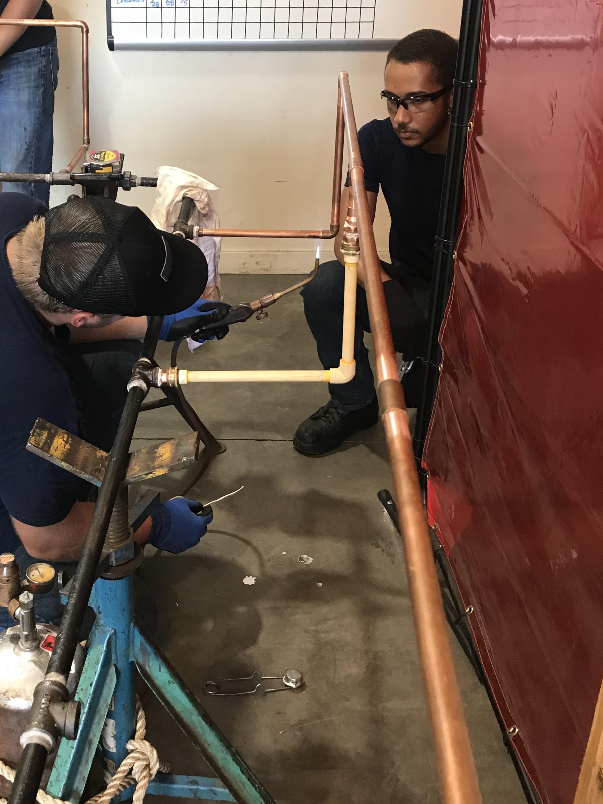 UA VIP Naval Station Norfolk HVAC-R Class 10 learning trade